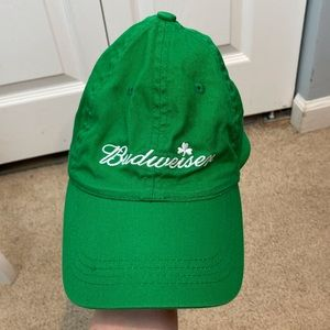 Green Budweiser Hat